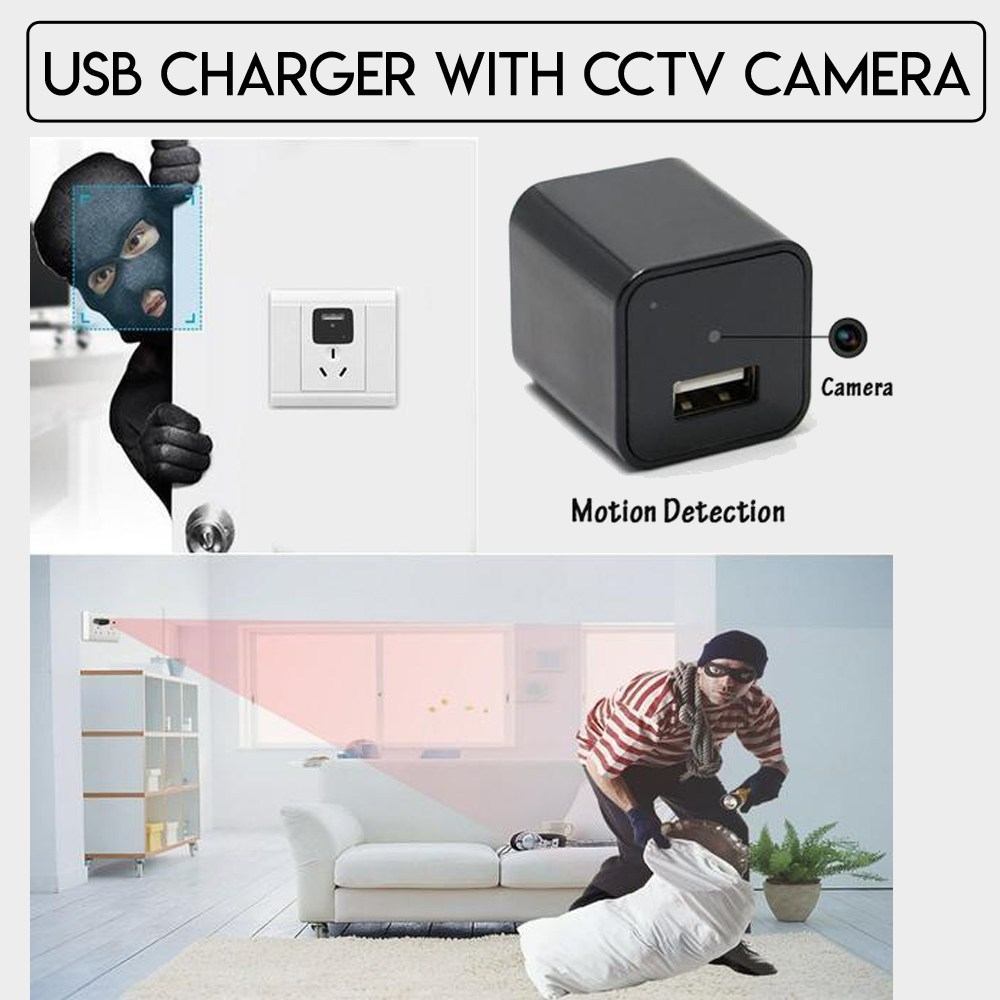 Charger Camera with Wi-Fi